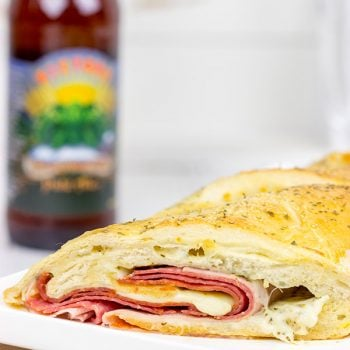 This Classic Stromboli is what happens when a pizza meets an Italian sub!