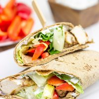 Want to mix up weeknight dinners? How about some Garam Masala Chicken Wraps?
