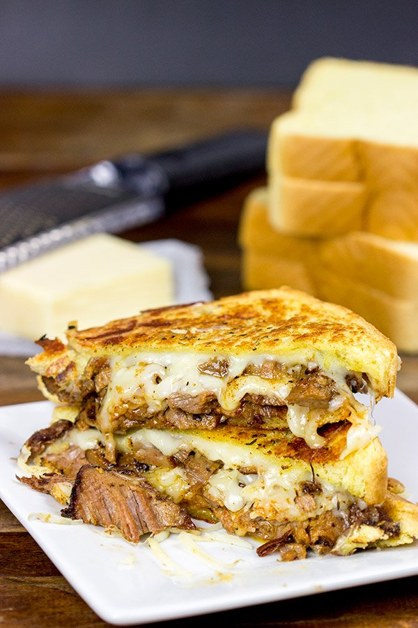Smoked Brisket Grilled Cheese