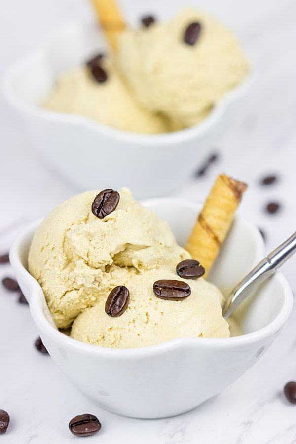 Need an extra boost of caffeine? How about a bowl of Coffee Ice Cream?
