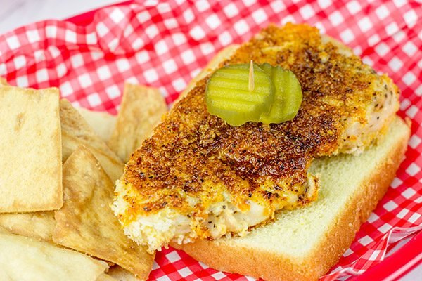 Can't make it to the Music City anytime soon? Then try out this Baked Nashville Hot Chicken at home!