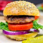 Everything Burger Buns