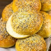 Take your summer grilling to a whole new level with these Everything Burger Buns!