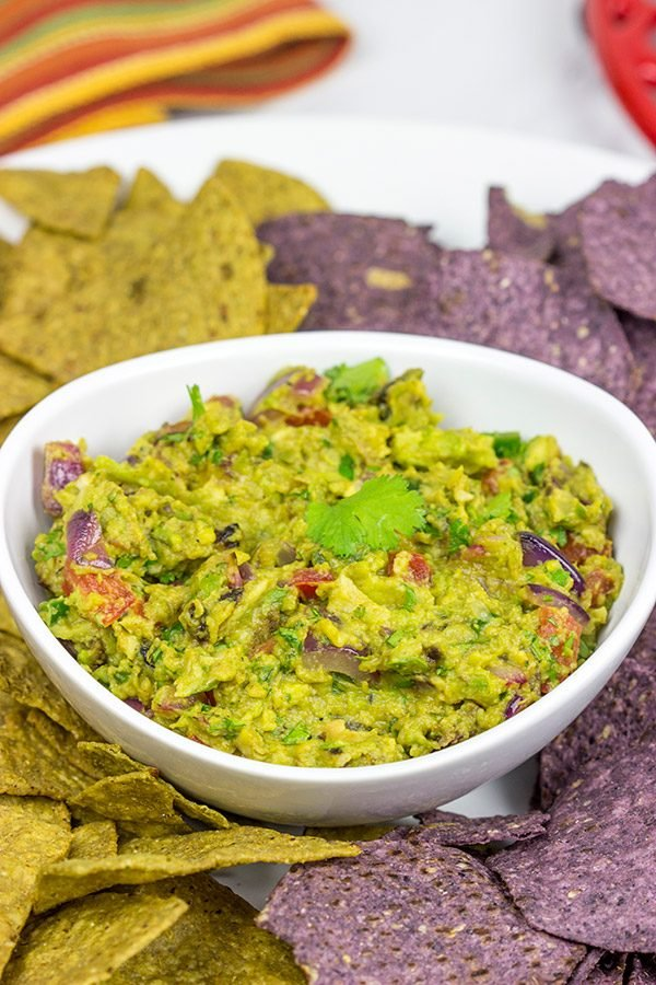 Summer is here! Grab a bag of tortilla chips and whip up a batch of Grilled Guacamole!