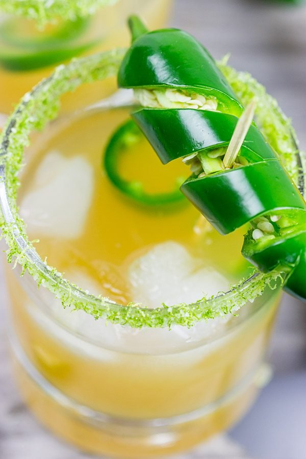 Want to spice up your cocktail hour this summer? Then mix up a Jalapeno Margarita or two!
