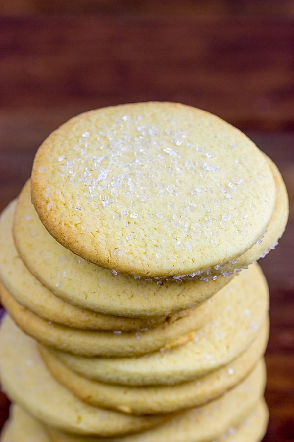 They might be simple, but these Chewy Sugar Cookies are a classic!