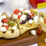 Grilled Mediterranean Baguette