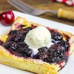 Vanilla Cherry Tarts