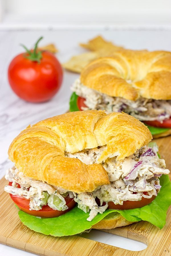 Want to take an old favorite to a whole new level? Try this Grilled Chicken Salad Sandwich!