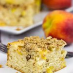 Peach Pecan Coffee Cake