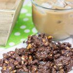 Triple Chocolate Peanut Clusters