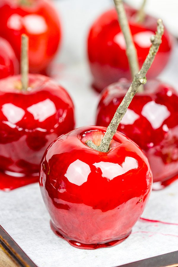 Can't make it to the state fair? Then just make your own batch of Candy Apples at home!