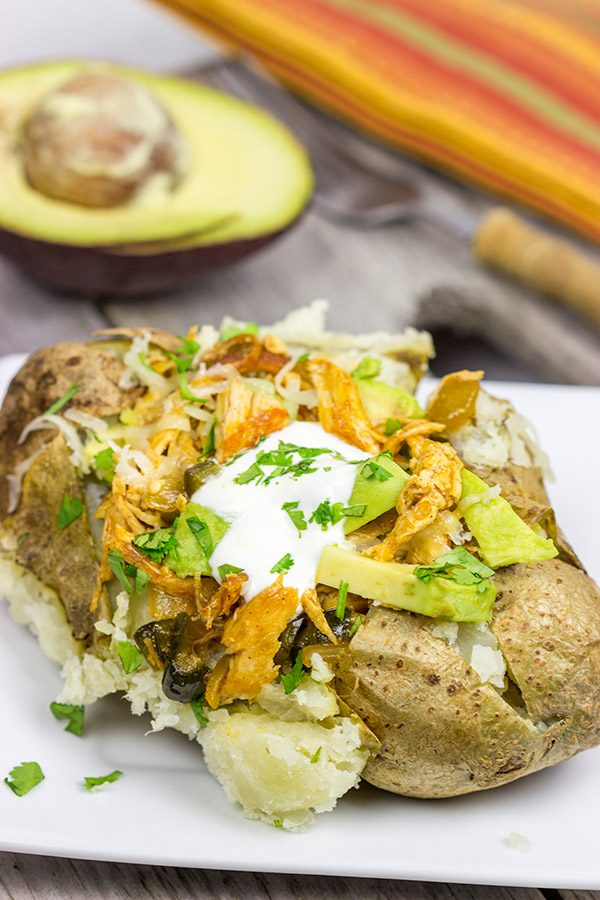 Who says you need tortillas for tacos? These Enchilada Baked Potatoes make for a delicious dinner!
