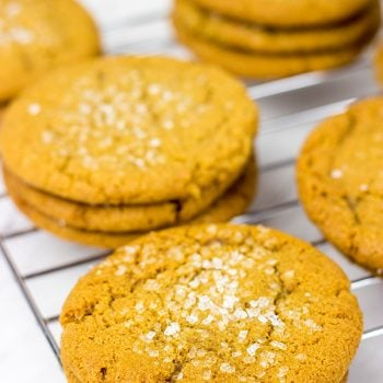 Chewy Molasses Cookies...just like Grandma used to make!