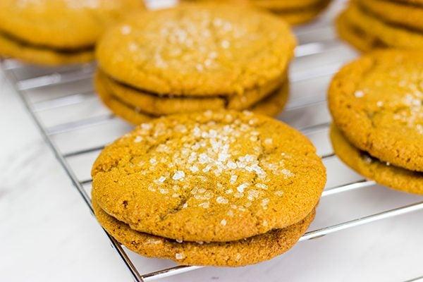 Chewy Molasses Cookies...just like Grandma used to make!