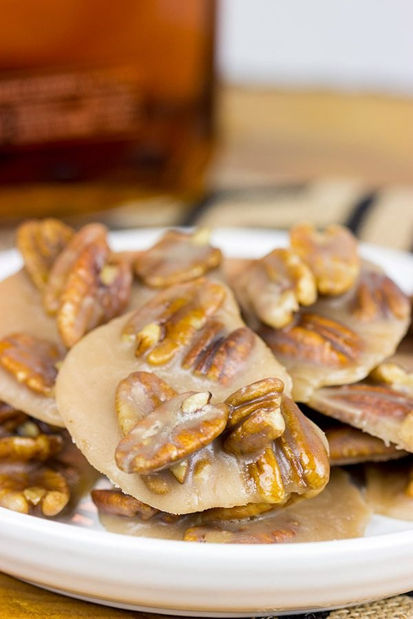 Take classic pralines to a whole new level with these Bourbon Pecan Pralines!