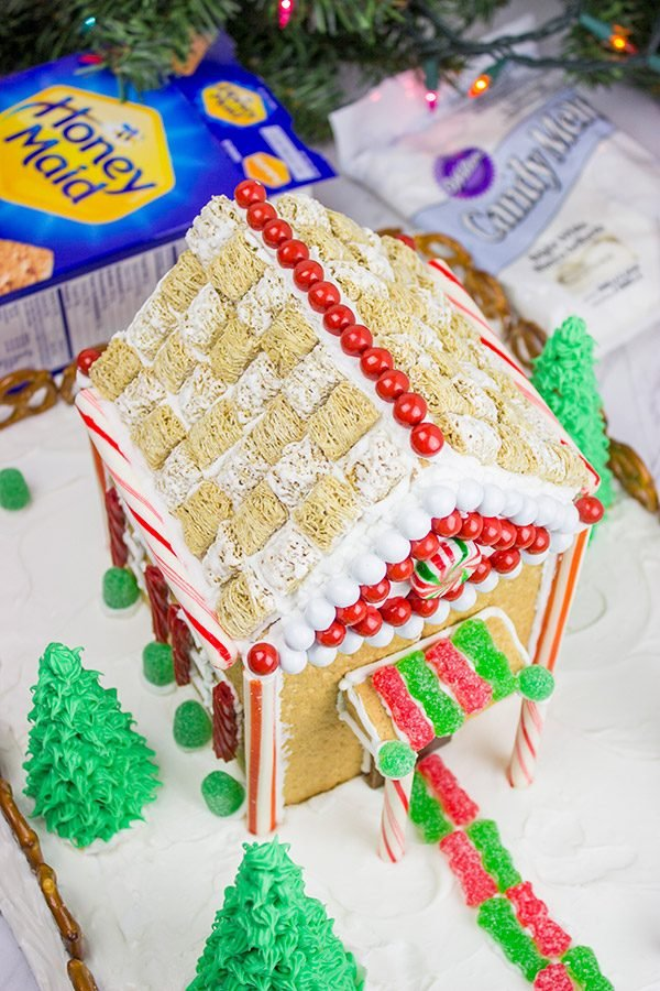 Holiday Gingerbread House on
