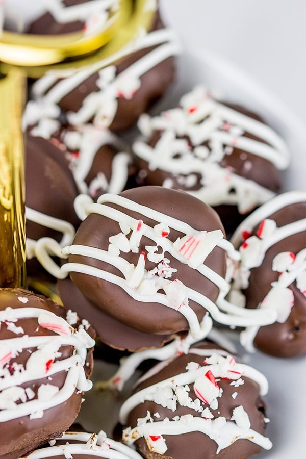These Peppermint Oreo Cookie Balls are a fun twist on a classic holiday treat!