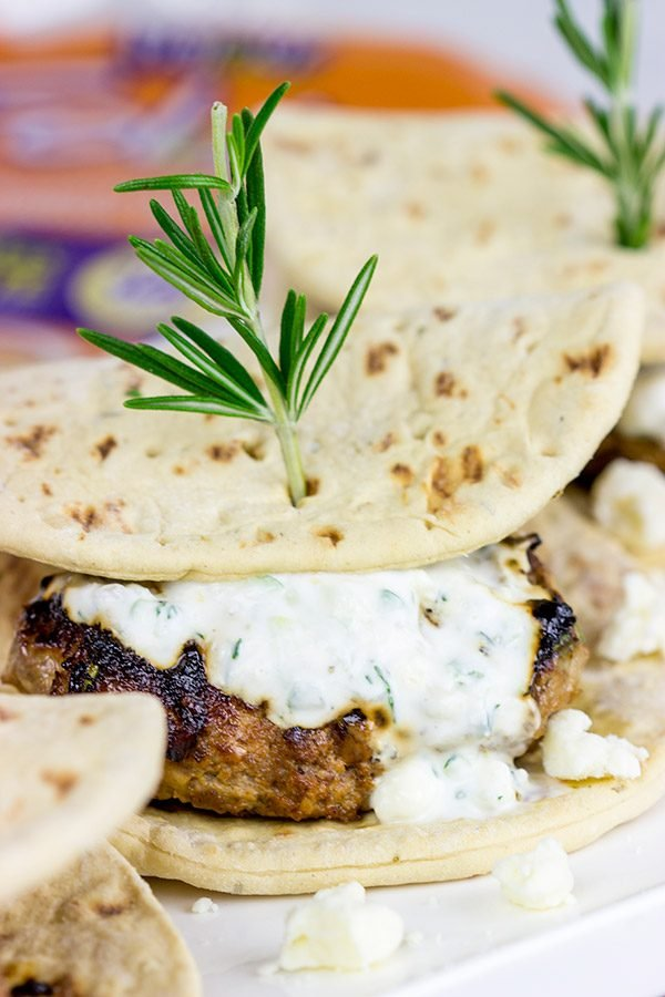 Looking for a fun yet casual dinner idea for holiday entertaining? Give these Lamb Sliders with Feta Tzatziki Sauce a shot!