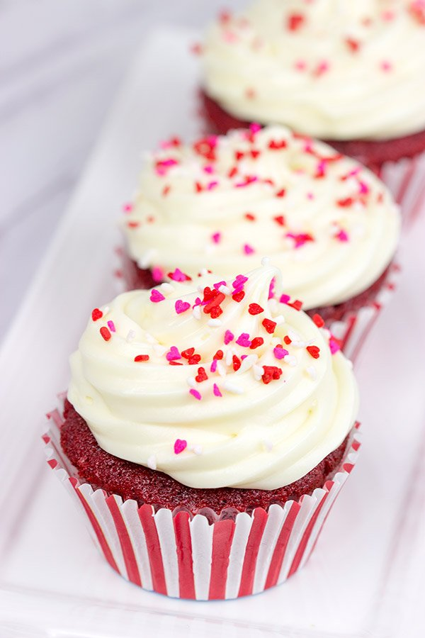 Valentine's Day is quickly approaching! Let's celebrate with Red Velvet Cupcakes...and a Shakespearean insult or two!