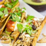 Slow Cooker Southwestern Chicken Tacos