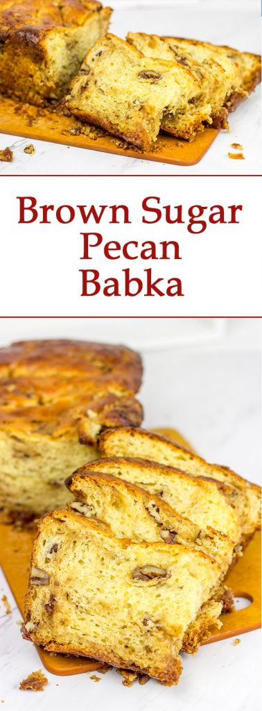 Let's give the 'lesser babka' some love! This Brown Sugar Pecan Babka makes for a delicious treat!