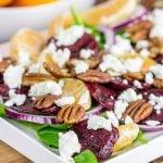 Mandarin Beet Salad with Poppyseed Dressing