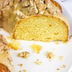 Pecan Praline Bundt Cake