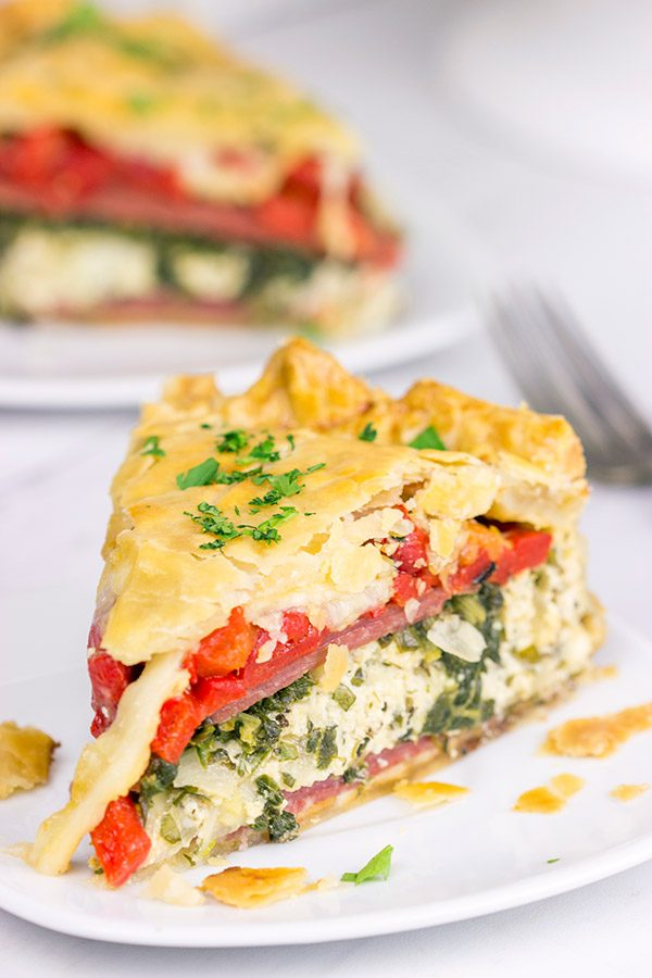 Featuring layers upon layers of deliciousness, the Torta Rustica (or Italian Easter Pie) is perfect for spring and summer picnics and potlucks!