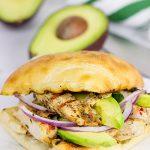 Grilled Jerk Chicken Sandwich
