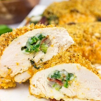 Bacon and Jalapeno Stuffed Chicken Rollatini
