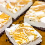 No Bake Peanut Butter Cheesecake Bars