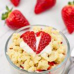 Strawberry Shortcake for One