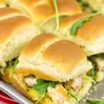 Grilled Chicken Sliders with Poppy Seed Butter