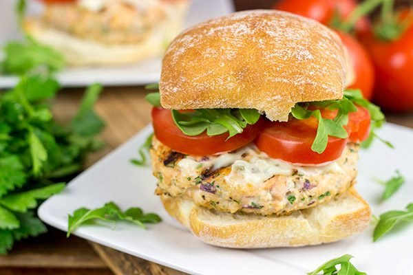 Looking to mix up the summer grilling routine? How about some tasty Grilled Salmon Burgers?