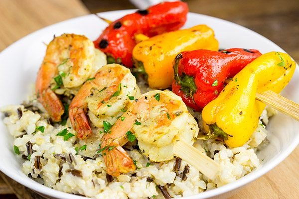 These Grilled Spicy Mustard Shrimp are an easy and flavorful grilled meal...perfect for busy summer evenings!