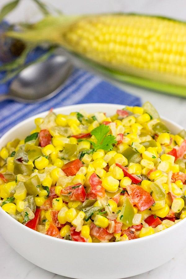 Mexican Creamed Corn