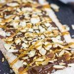 Chocolate Almond Flatbread