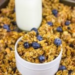 Blueberry Cashew Granola