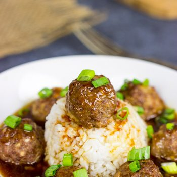 These Sweet and Sour Meatballs are perfect for either appetizers or a hearty, winter meal!