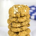 Whole Wheat Oatmeal Raisin Cookies