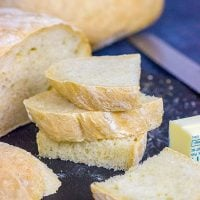 This French Peasant Bread is an easy homemade bread that's perfect for sandwiches...or just a simple smear of salted butter!