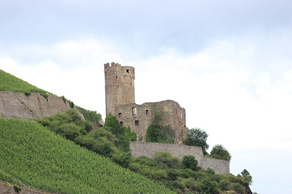 Castles and towns along the Middle Rhine