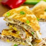 Slow Cooker Carnitas Quesadillas