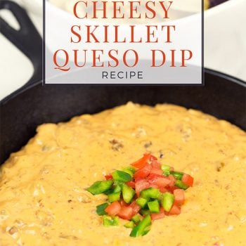 Cheesy Skillet Queso Dip