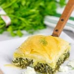 Greek Spanakopita (Spinach and Feta Pie)