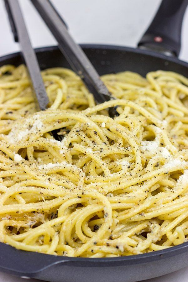 Cacio e Pepe is a classic Italian pasta dish that's both easy and delicious!