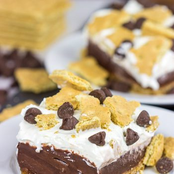 Celebrate warm summer days with this twist on a classic.  These Frozen S'mores Bars are sure to be a hit in your family!