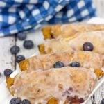 Glazed Blueberry Hand Pies