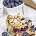 Overnight Blueberry French Toast Bake